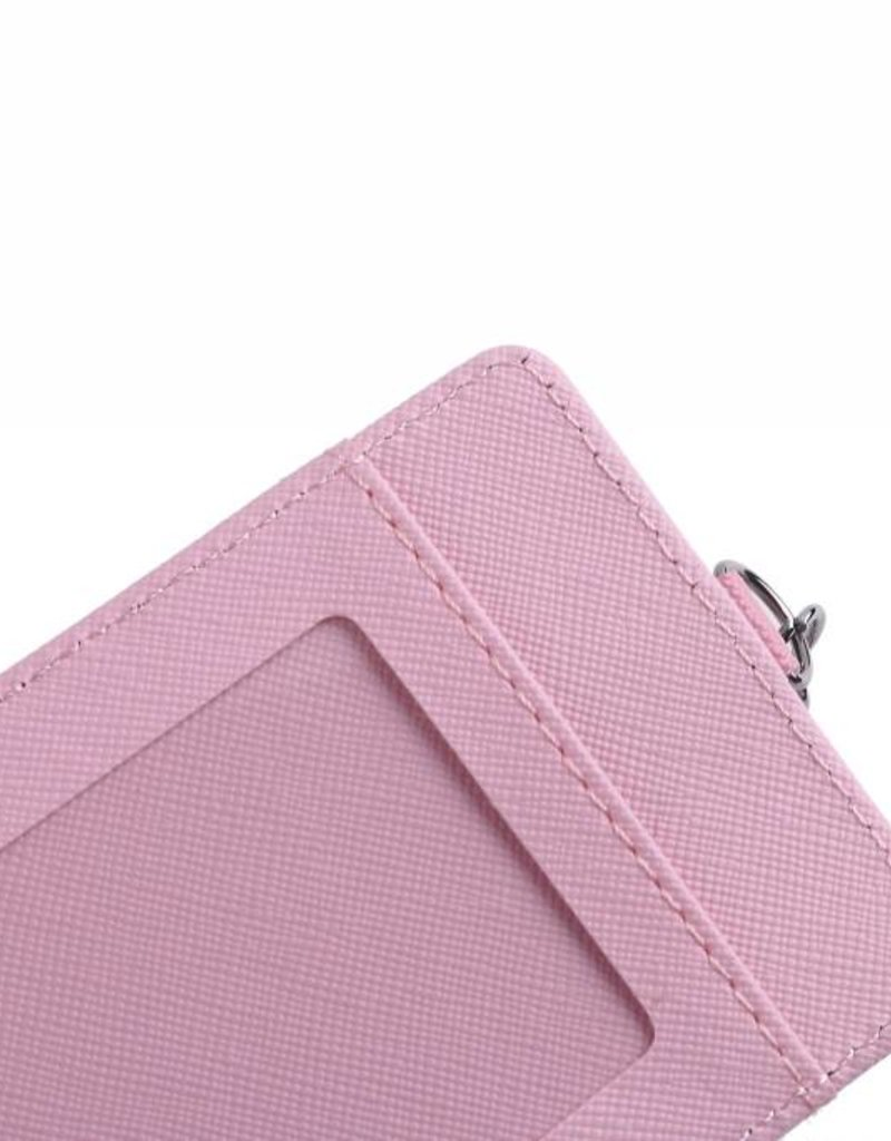 Happy Wahine Card Case April Seashell Pink