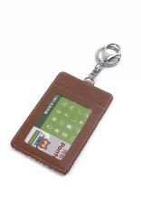 Card Case April Tapa Tiare Brown