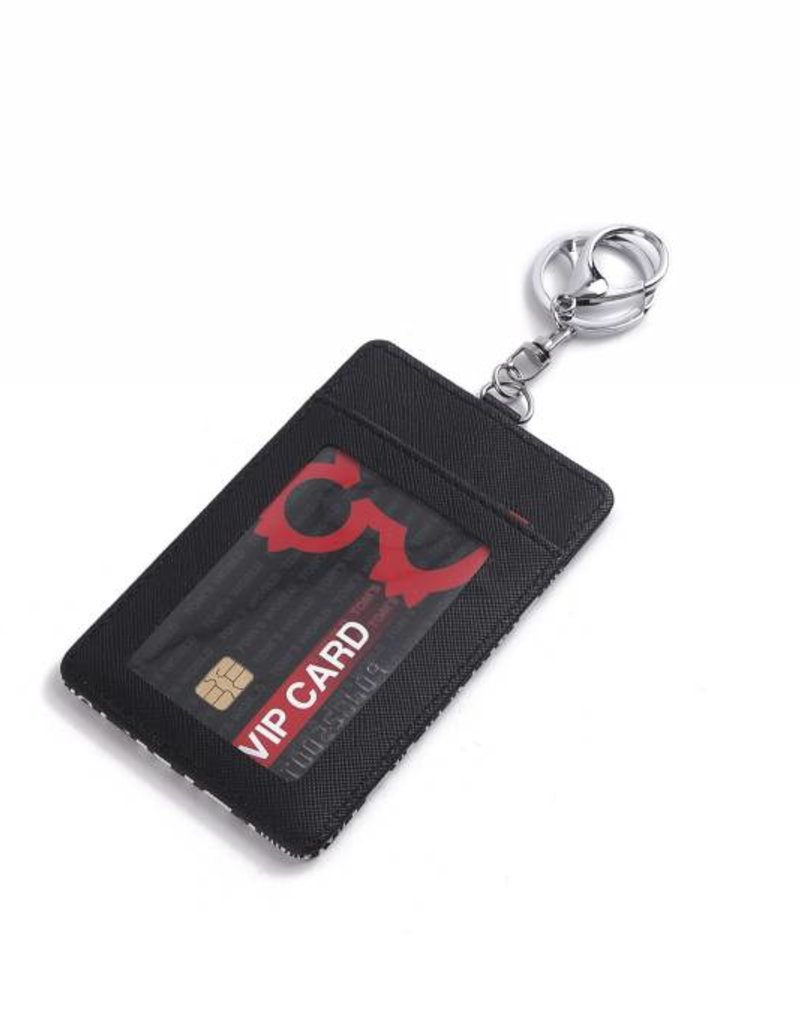 Card Case April Tapa Tiare Black