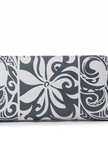 Wallet Kaylee Tapa Tiare Grey