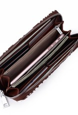 Wallet Kaylee Tapa Tiare Brown