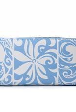 Wallet Kaylee Tapa Tiare Light Blue