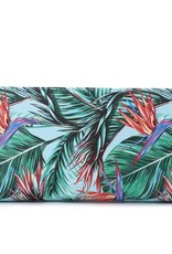 Happy Wahine Wallet Kaylee Bird of Paradise Blue
