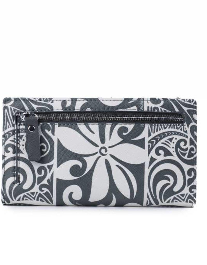 Wallet Teyla Tapa Tiare Grey