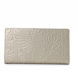 Happy Wahine Wallet Teyla Monstera Gold Met Emb