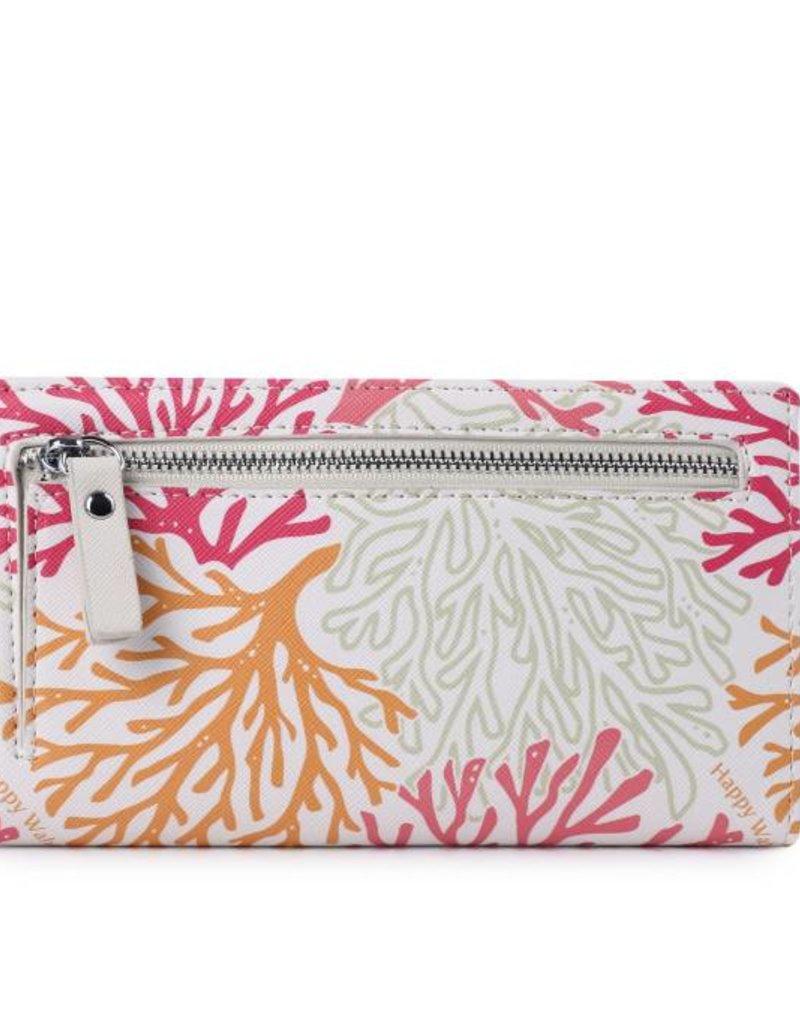 Wallet Teyla Coral Beige