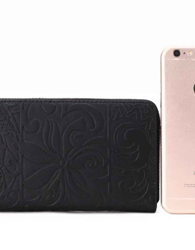 Wallet Chloe Tapa Tiare Black Emb