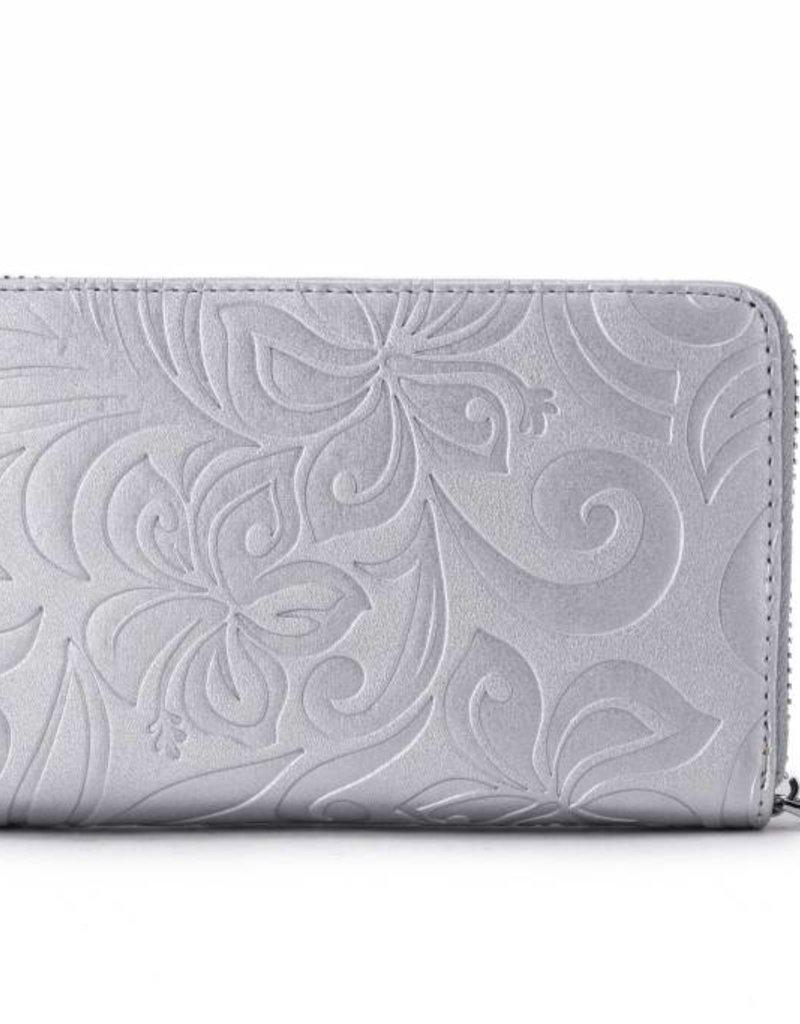 Wallet Chloe Hibiscus Silver Emb