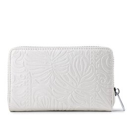 Happy Wahine Wallet Chloe Monstera Pearl Met Emb