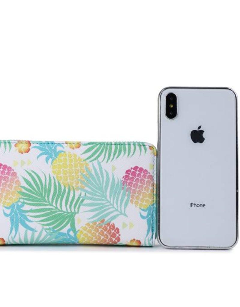 Happy Wahine Wallet Chloe Spring Pineapple Green