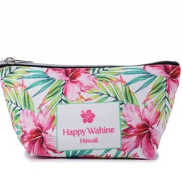 Everyday Hawaii Everyday HI Pouch Watercolor Hibiscus