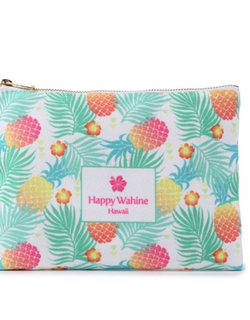 Everyday Hawaii Everyday HI Flat Pouch Spring Pineapple