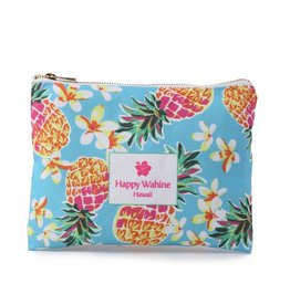 Everyday Hawaii Everyday HI Flat Pouch Pineapple Blue
