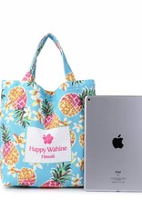 Everyday Hawaii Everyday HI Small Tote Pineapple Blue