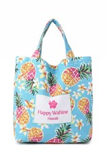 Everyday HI Small Tote Pineapple Blue