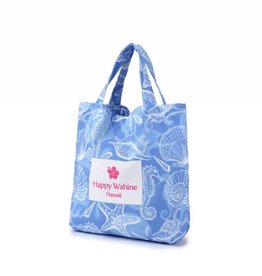 Everyday Hawaii Everyday HI Small Tote Shells Blue