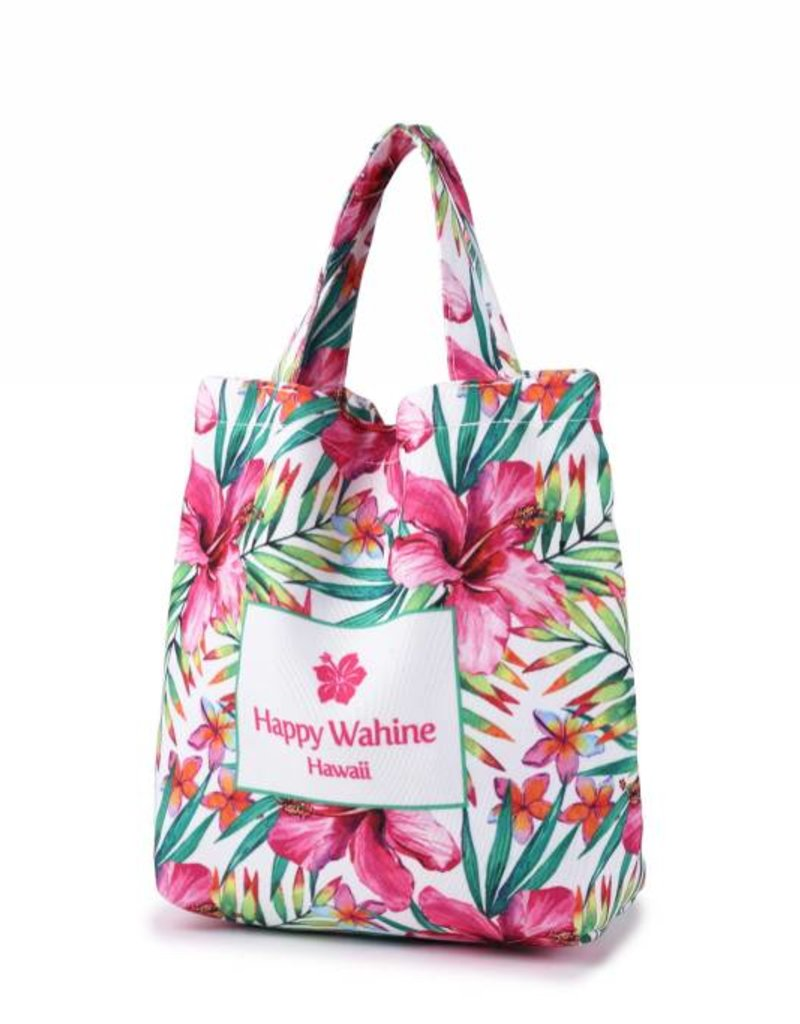 Everyday Hawaii Everyday HI Small Tote Watercolor Hibiscus