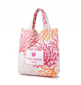 Everyday Hawaii Everyday HI Small Tote Coral