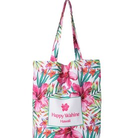 Everyday Hawaii Everyday HI Tote Watercolor Hibiscus