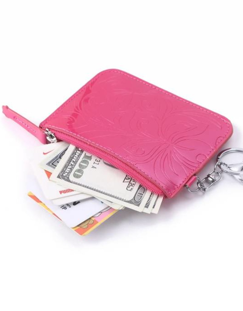 Card Case May Hibiscus Pink