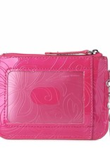 Happy Wahine Card Case May Hibiscus Pink
