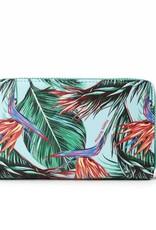 Wallet Chloe Bird of Paradise Blue