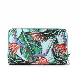 Happy Wahine Wallet Chloe Bird of Paradise Blue