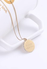 Necklace Aloha Wahine Gold 26in