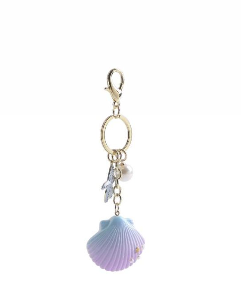 Happy Wahine Charm Davine Shell Blue-Purple