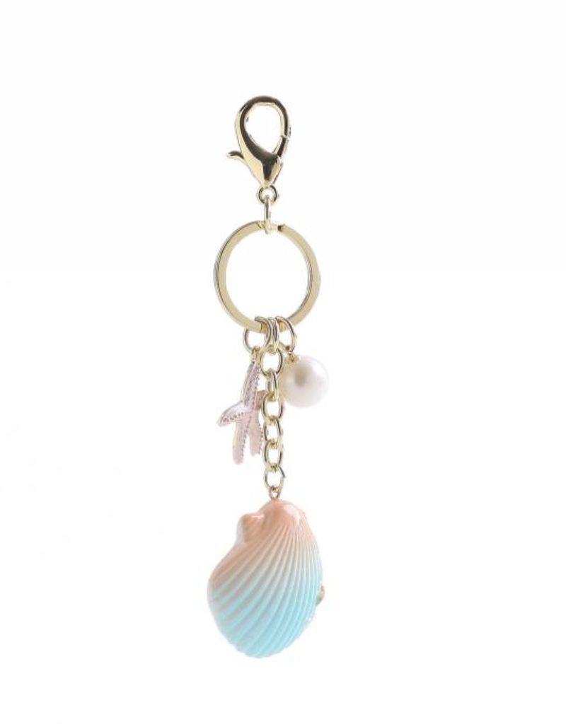 Happy Wahine Charm Davine Shell Pink-Blue