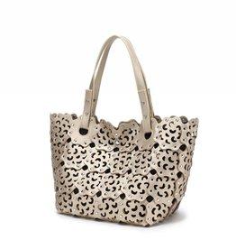 Happy Wahine Handbag Pua Light Gold