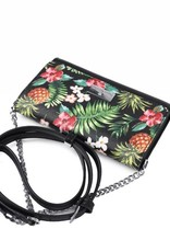 Happy Wahine Crossbody Amanda Vintage Pineapple Black
