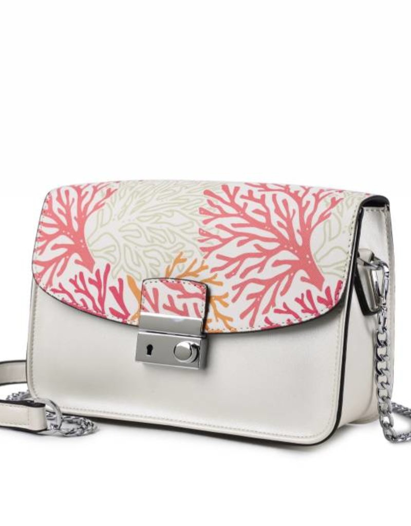 Happy Wahine Crossbody Janice Flap Coral Beige
