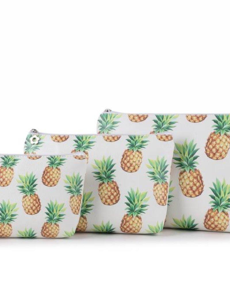 Happy Wahine Pouch Lilo Pineapple Medium