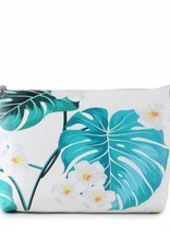 Happy Wahine Pouch Lilo Monstera Small