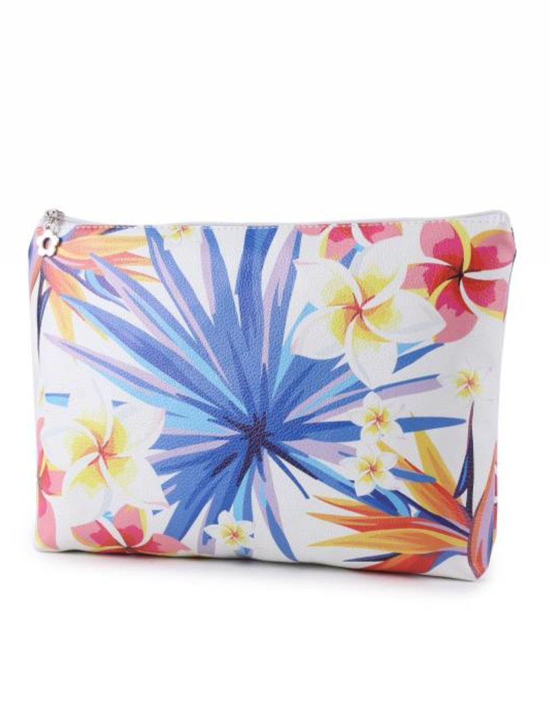 Happy Wahine Pouch Lilo Plumeria Large