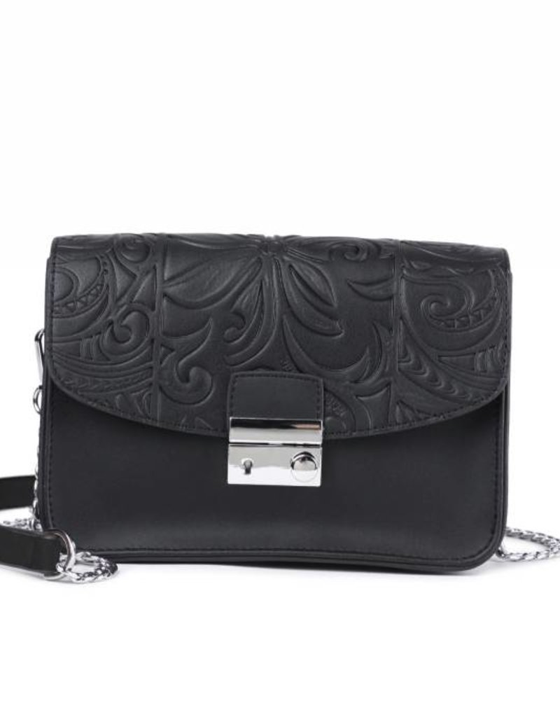 Happy Wahine Crossbody Janice Base Black