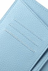Happy Wahine Passport Cover Jenna Bird of Paradise Blue