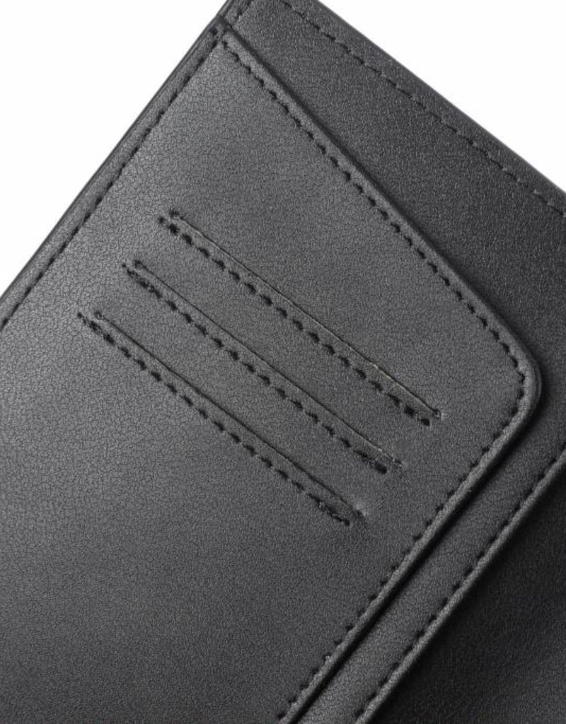 Passport Cover Jenna Tapa Tiare Embossed Black