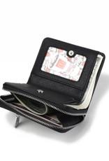 Wallet Meily Tapa Tiare Black