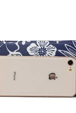 Wallet Chloe Hibiscus Blossom Blue