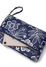 Wristlet Melody Hibiscus Blossom Blue
