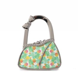 Happy Wahine Purse Hook Purse Spring Pineapple Beige