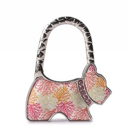 Everyday Hawaii Purse Hook Dog Coral Beige