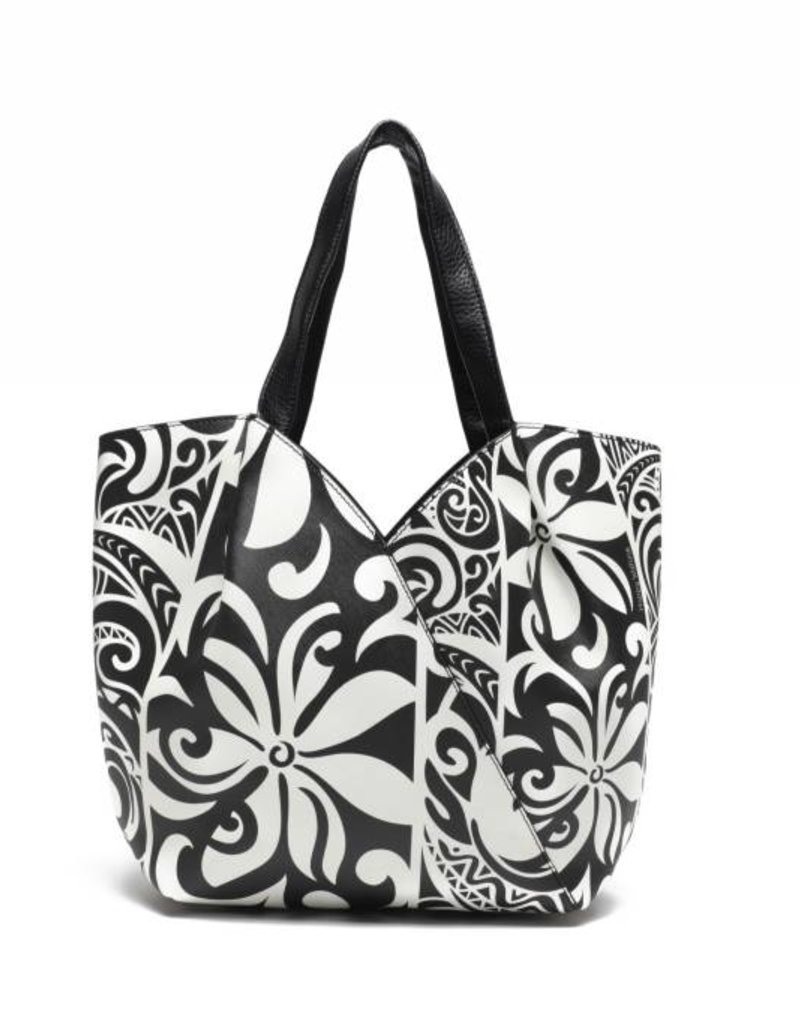 Handbag Kuuipo Tapa Tiare Black