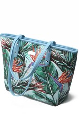Tote Lianne Bird of Paradise Blue