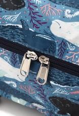 Nylon Duffle Sophie Whales Blue