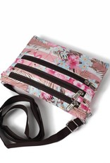 Nylon Jonelle Flamingo Stripes Pink
