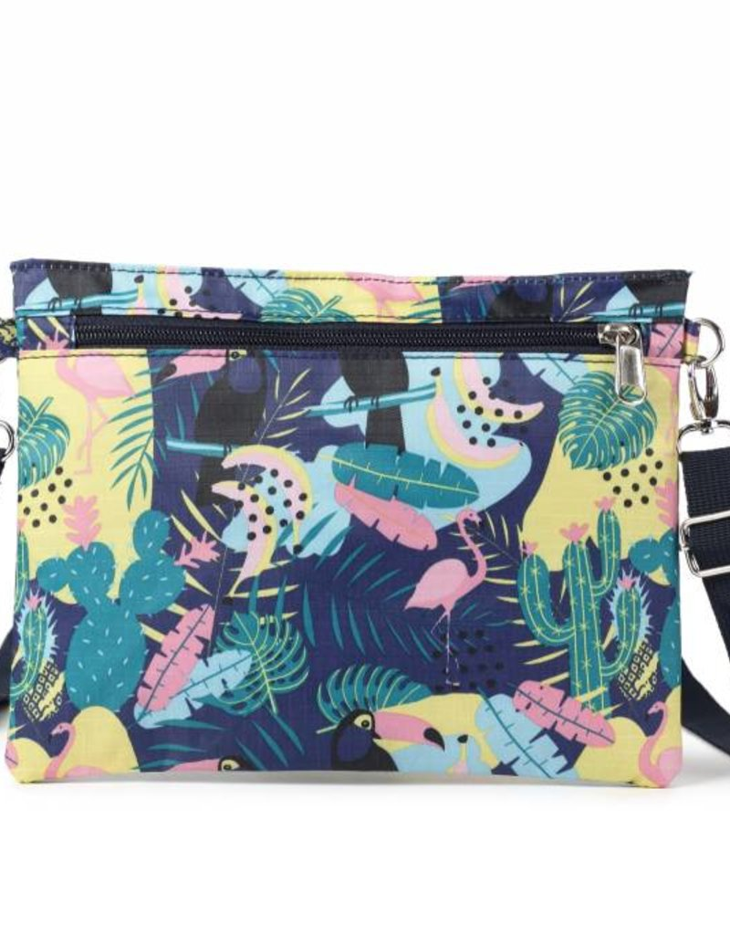 Happy Wahine Nylon Jonelle Parrot Blue