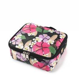 Happy Wahine Nylon Leah Small Hibiscus Pink Purple